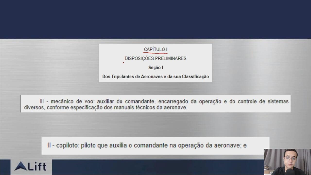 Preparatório Banca da ANAC: Piloto Comercial (PC) - Regulamentos