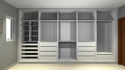 Projeto de móveis planejados e detalhamento de marcenaria